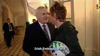 Hector hanging with Bertie Ahern