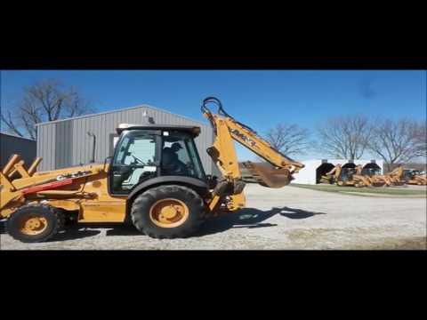2006 Case 580 Super M Series 2 backhoe for sale | no-reserve Internet  auction March 30, 2017