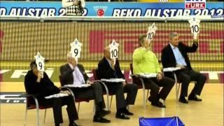 dogus balbay slam dunk contest tbl all star 2012