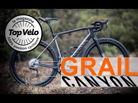 Image de la vidéo Vélo Canyon Grail : Le Saint-Graal du Gravel novateur ?