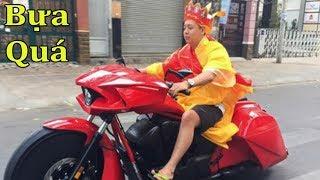 CỰC BỰA - Đường Tăng Cưỡi Moto PKL Đi Hát Karaoke | Minh Motor