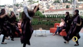 زقفة زقفة يا شباب - رقص دبكة - فرقة قانا - #صباحنا_غير- 8-8-2016- قناة مساواة الفضائية