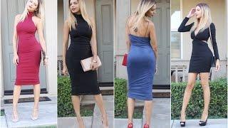 Look Book Vestidos Elegantes & Sexis