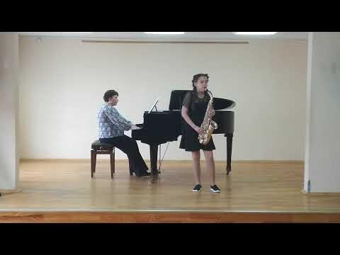 Крыганова Александра (саксофон), ДМШ №4 им. Л. Воинова (Саранск)
