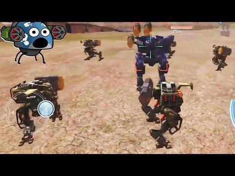FUNNY MOMENTS WAR ROBOTS