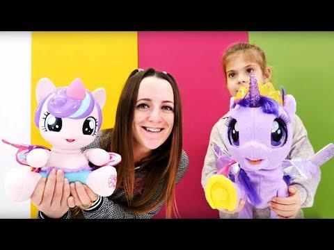 ФлариХарт знакомится с Твайлайт Спаркл - интерактивные игрушки - ПоняНя