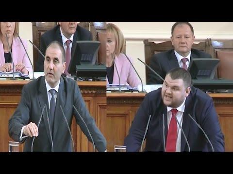 Пеевски към Цветанов - Лично ще се разправям с вас