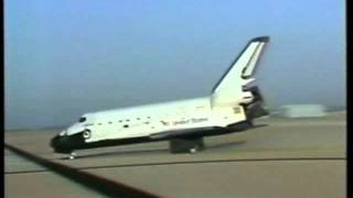 Space Shuttle Challenger - STS-7 Landing