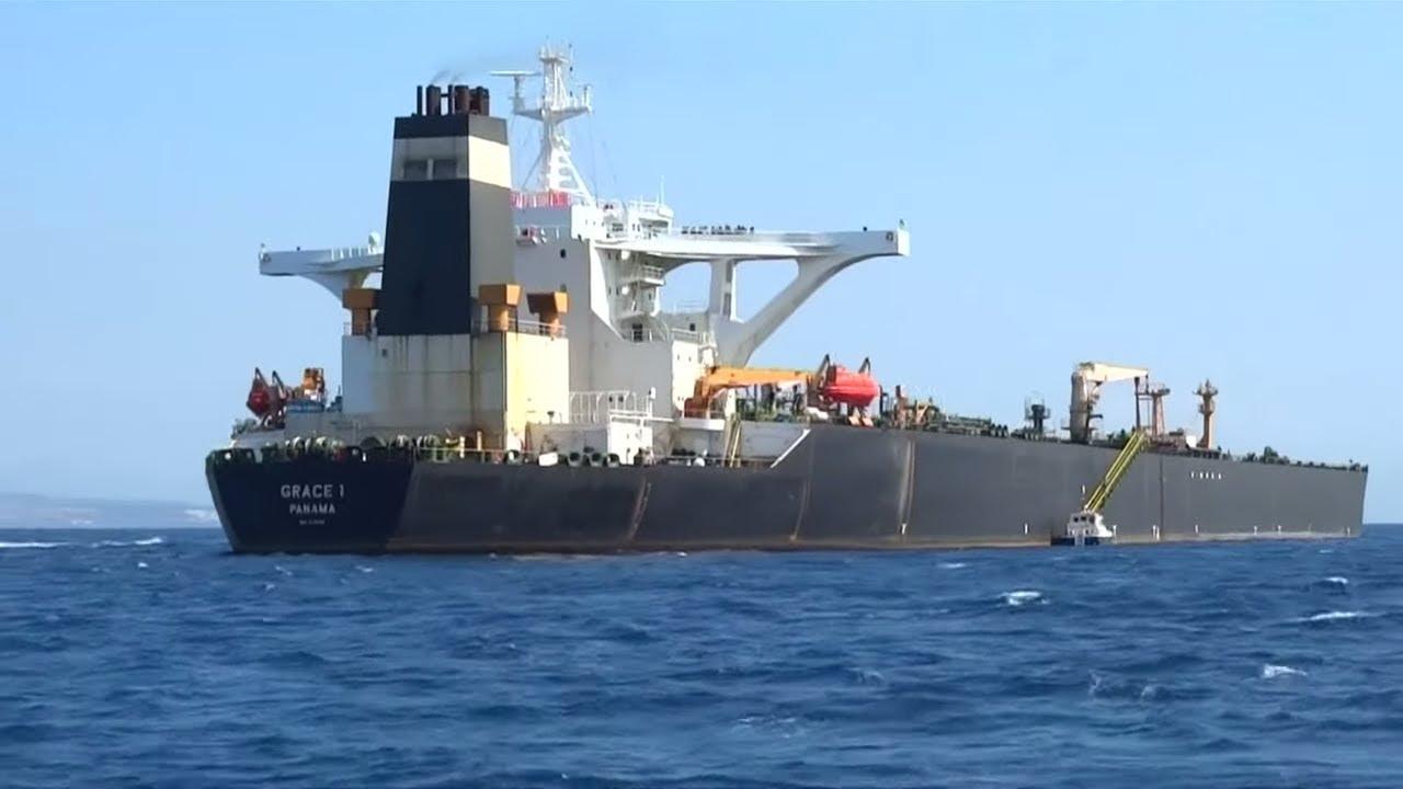 GIBRALTAR: Öltanker auf dem Weg nach Syrien festgesetzt