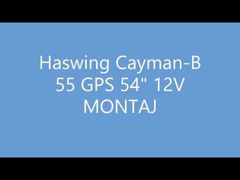 Haswing Cayman B 55 GPS 54 12V MONTAJ