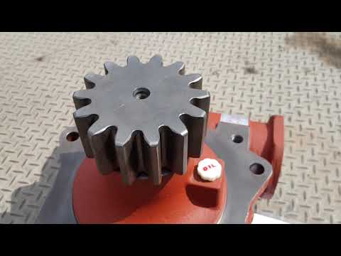 Редуктор поворота крана манипулятора Kanglim KS2065