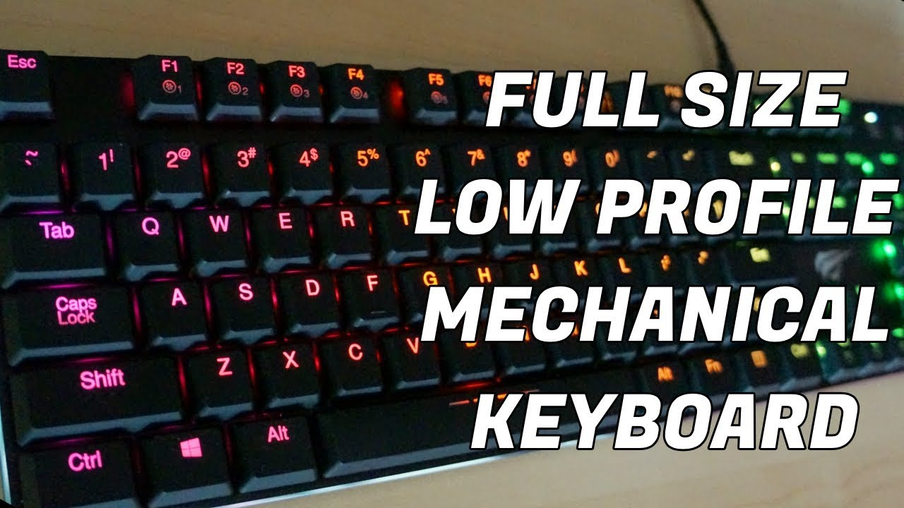 707a222b0ac HAVIT HV-KB395L Low Profile Mechanical Keyboard - Unboxing, First  Impressions and Quick Review