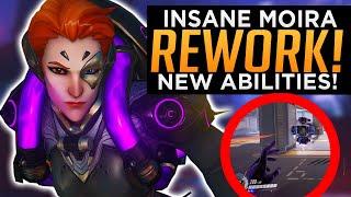 Overwatch: INSANE Moira Rework! - NEW Overpowered Abilities!