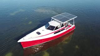 Solarboot, Elektroboot, Elektroantrieb, Elektroyacht, Solaryacht