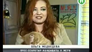 В Днепропетровске выдвигают кота в мэры