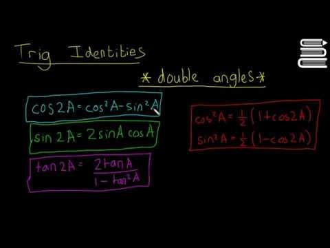 Leaving Cert Maths - Trigonometry 33 - Trigonometric Identities Double Angles