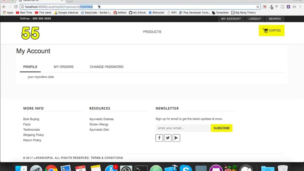 #20 Dynamic Bootstrap Tabs In Laravel 5 5    E-Commerce Website in Laravel  5 5