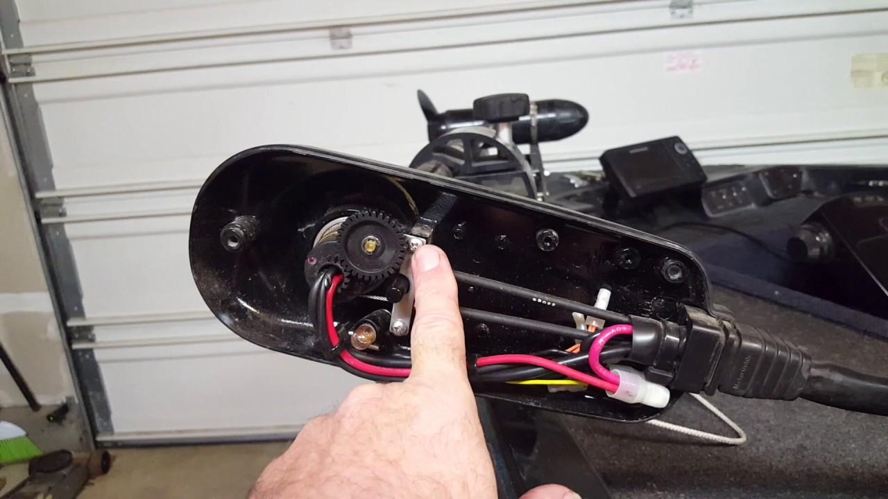Motorguide trolling motor arrow keep moving youtube for Motorguide or minn kota trolling motor