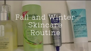 Fall and Winter Skincare Routine Thumbnail