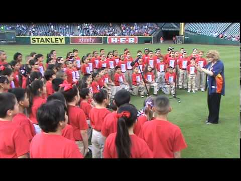 2014 Pearl Hall Elementary Astros Choir