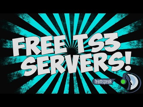 How to Get A FREE Teamspeak 3 Server [HOSTING] with 1500 Slots from YouTube · Duration:  2 minutes 30 seconds