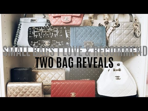 SMALL DESIGNER HANDBAGS I LOVE & RECOMMEND | TWO BAG REVEALS | IAM CHOUQUETTE