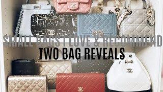SMALL DESIGNER HANDBAGS I LOVE & RECOMMEND | TWO BAG REVEALS | IAM CHOUQUETTE