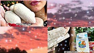 ASMR / Мел /Меловые камни / Mukbang / Chalk / Clay / Crunch /