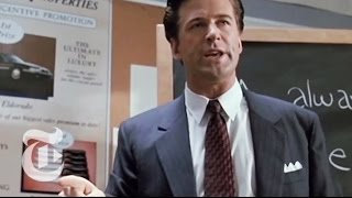 'Glengarry Glen Ross' | Critics' Picks | The New York Times