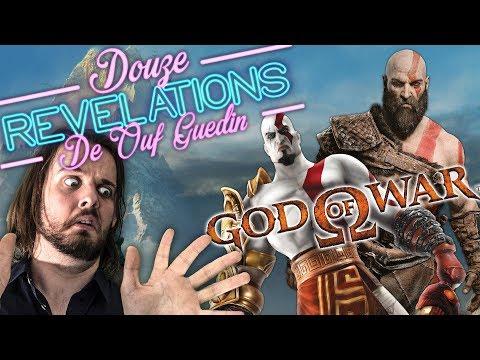 12 RÉVÉLATIONS DE OUF GUEDIN SUR GOD OF WAR