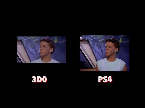 Night Trap Stand Off: 3D0 vs PS4
