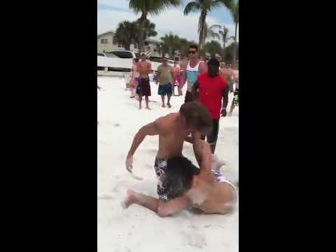 BEST 2013 SPRING BREAK FIGHT: Fort Myers Beach, Florida