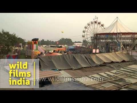 My fair lady ride at Sonepur mela, Bihar