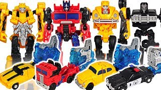 Transformers Movie Bumblebee Energon Igniters Speed Series Optimus Prime vs Hot Rod! #DuDuPopTOY