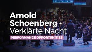Verklärte Nacht by Arnold Schoenberg complete - RNCM String Orchestra live performance