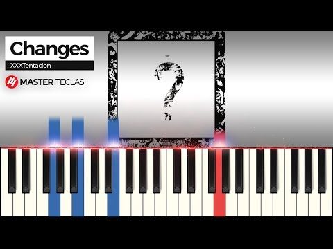 💎Changes - XXXTentacion  Piano Tutorial 💎