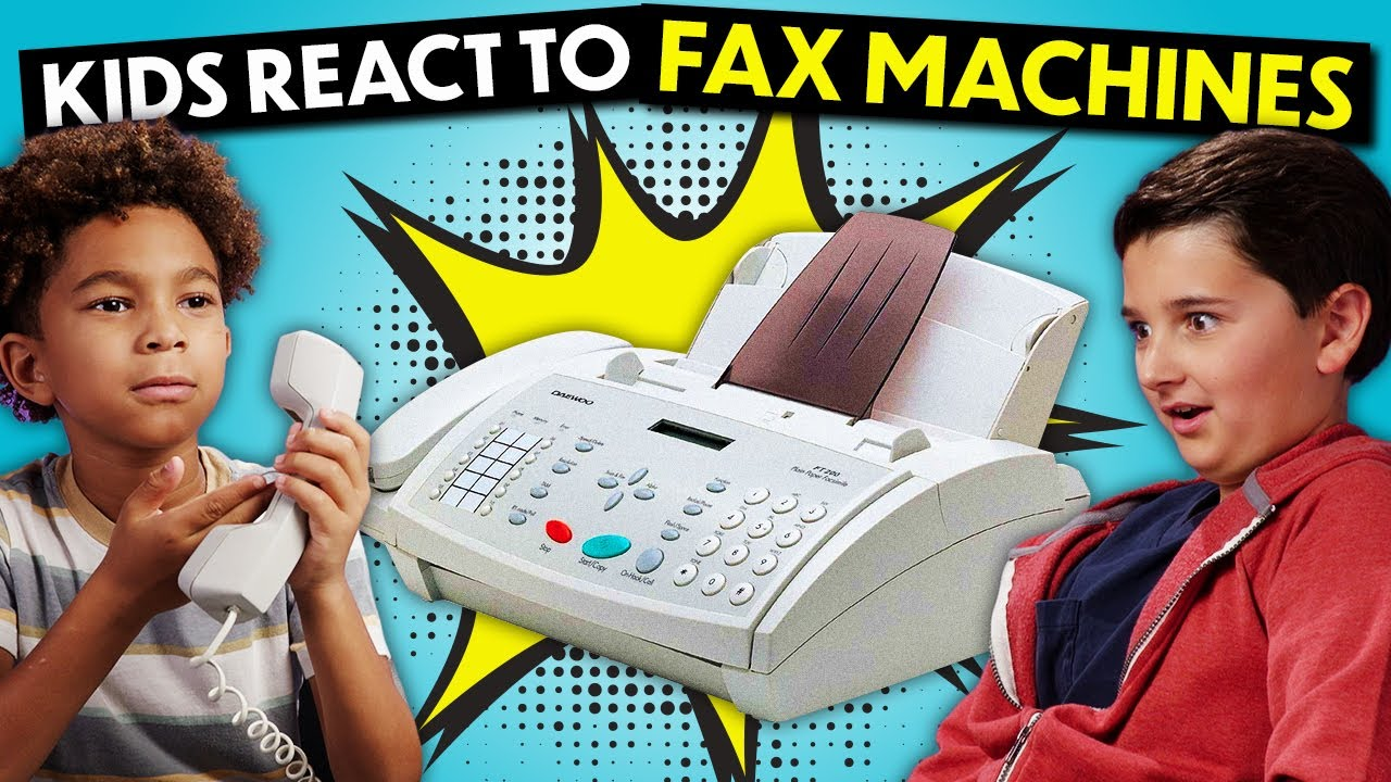 Download Kids React To Fax Machines