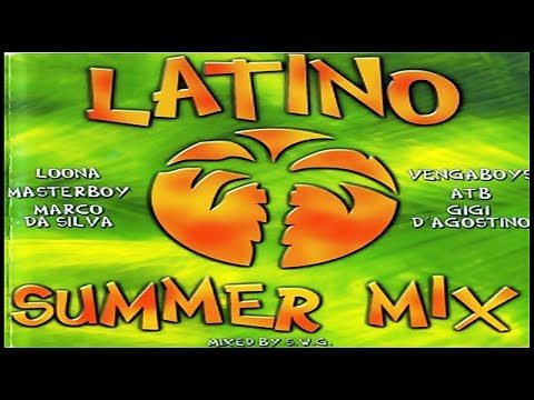 Latino Summer Mix (2000) [Polystar - CD, Compilation] (Eurodance/Italo Dance/Latin Mix)