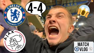 THE MOST INCREDIBLE GAME OF FOOTBALL I'VE EVER SEEN... CHELSEA 4-4 AJAX CHAMPIONS LEAGUE MATCH VLOG