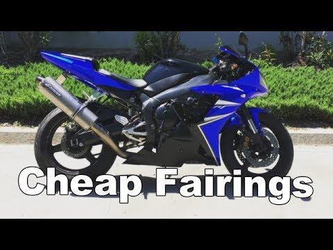 Budget Motorcycle Build: Chinese EBay Fairings Review