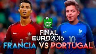GAMEPLAY - FRANCIA VS PORTUGAL