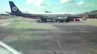 PLUNA Boeing 737-200 CX-BOP takeoff at Montevideo Carrasco (MVD)