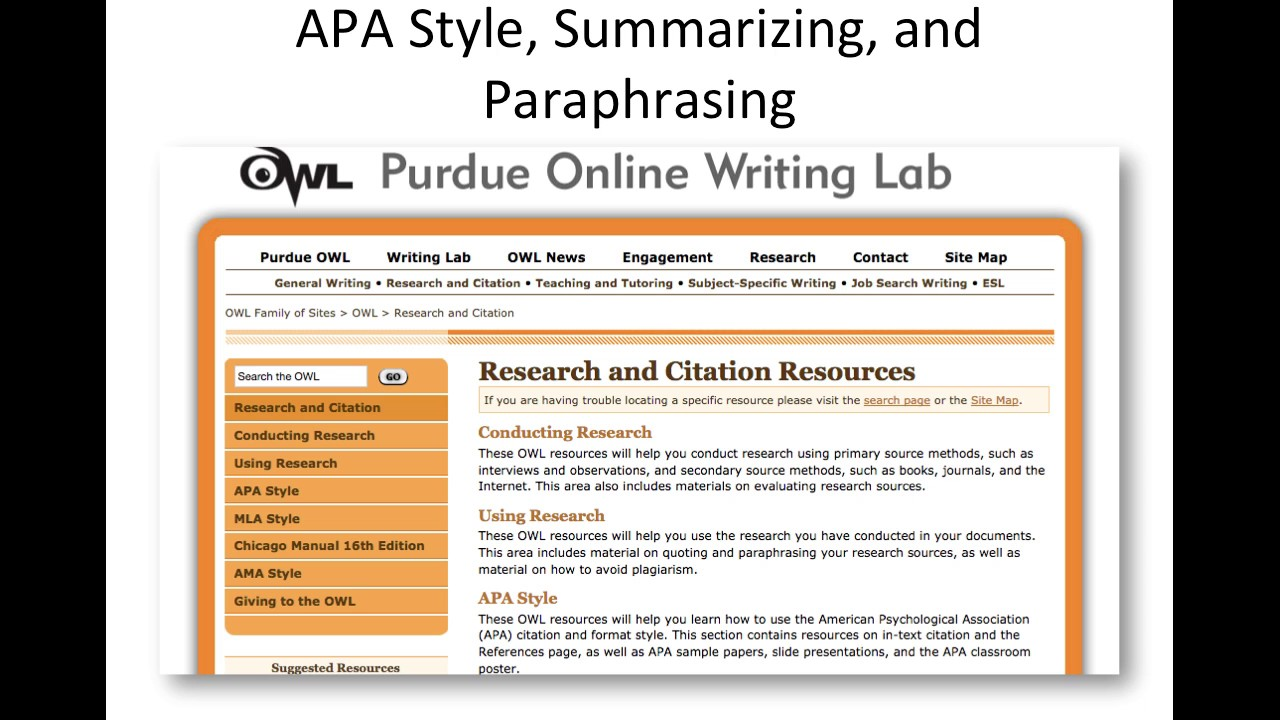 apa style on research paper Apa key elements this checklist is designed as a guide to the key elements of apa 6th ed style required for student papers at of the research paper's.