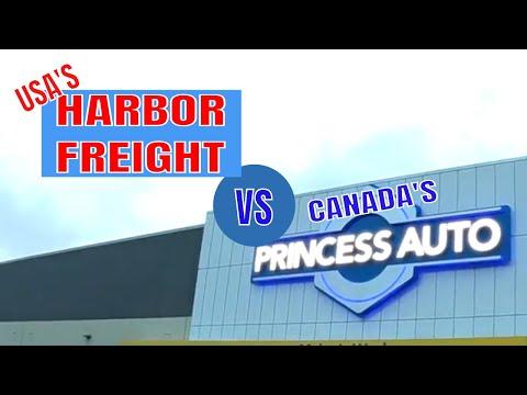 Harbor Freight Vs Canada's Princess Auto