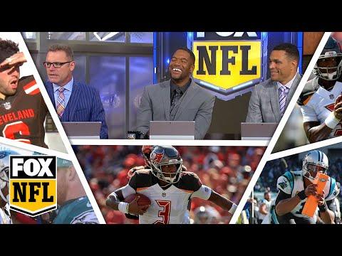 FOX NFL crew break down Week 7 Panthers, Bucs | FOX NFL