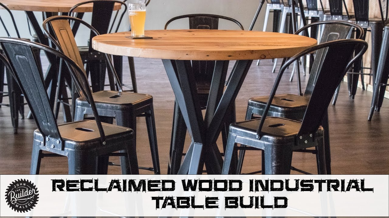 How To Build Reclaimed Industrial Tables