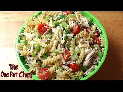Light & Tangy Pasta Salad   One Pot Chef