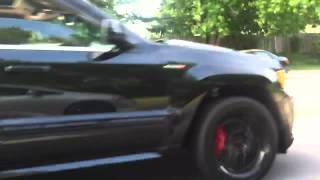 Supercharged jeep srt8 and supercharged civic si Video