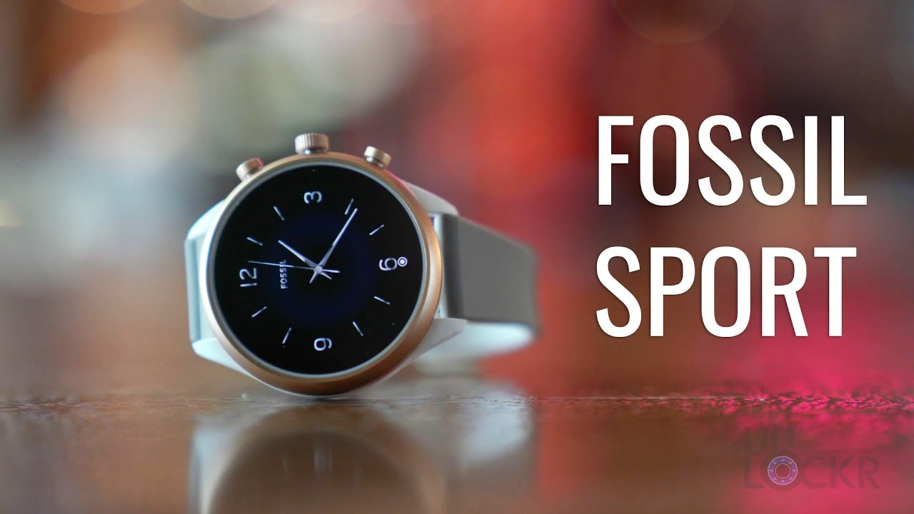 Fossil Sport Complete Walkthrough: An Affordable, Lightweight WearOS Smartwatch