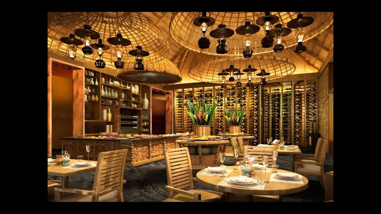 Restaurant Decoration Design : Best design decoration of restaurant around the world